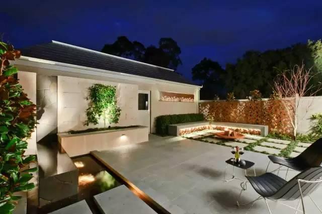 赶紧收藏!21个最美现代风格庭院设计案例_142