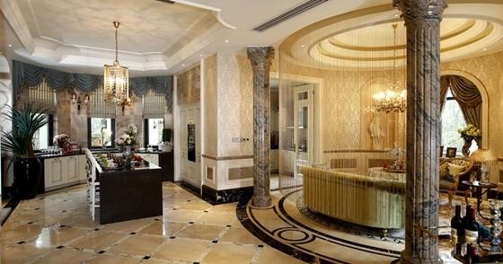 [宁波]新古典主义奢华三层别墅室内装修施工图gta5有么别墅线下图片
