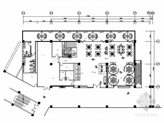 [深圳]首家五星级度假酒店典雅火锅城装修设计施工图(含效果)