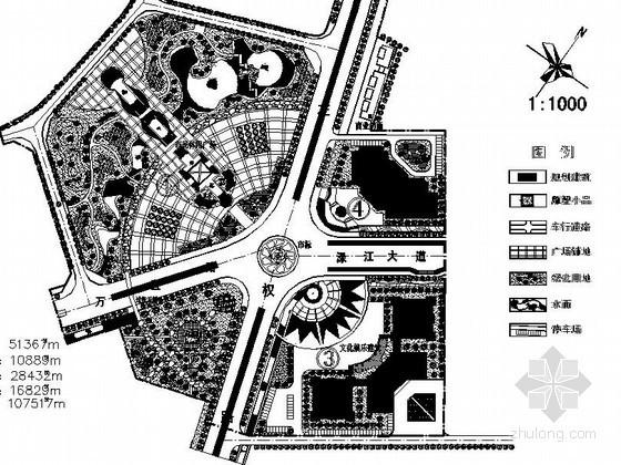 某广场景观设计施工图