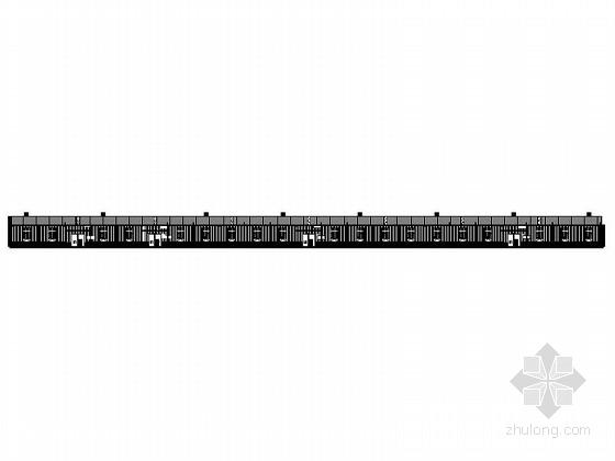 [湖北]6米单层门式刚架鱼业生产基地仓库建筑施工图