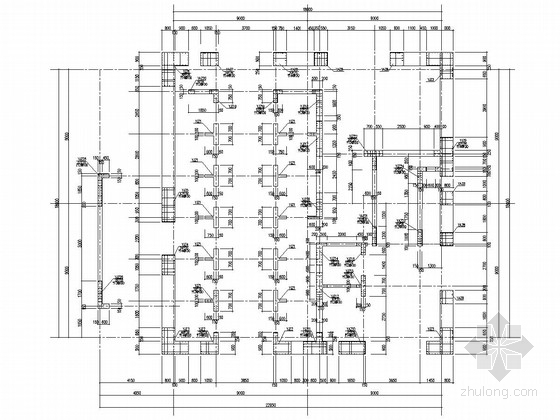 [湖南]48层框架核心筒结构商业综合体结构施工图