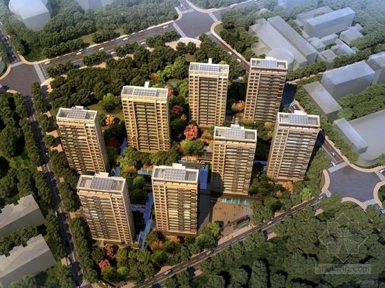 [甘肃]现代绿色宜居高层住宅社区规划设计方案文本