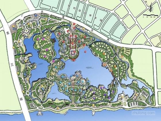 [西安]人文山水国际博览会景观规划设计方案(北京公司)