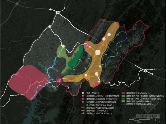 [四川]竹主题风景旅游区景观规划汇报方案