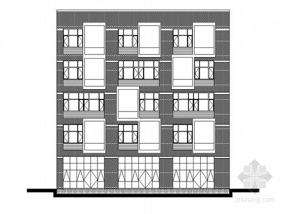 [武汉]多层框架式科研办公中心建筑施工图(含四个方案)