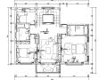 [浙江]现代中式风格自建别墅设计施工图(附效果图)