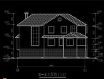 二层别墅建筑图