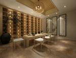 中式禅意会客厅3D模型