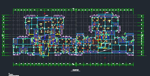 地上22层地下4层桩基础框架剪力墙住宅楼结构施工图_4