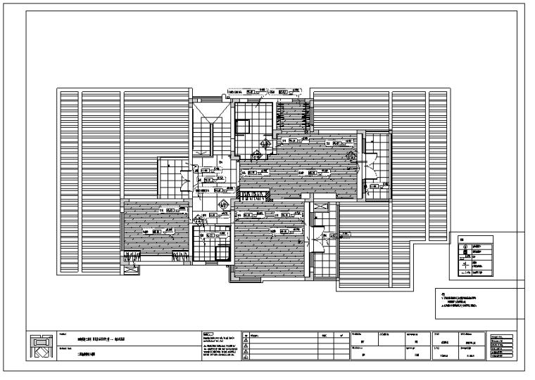 广东南加州现代风格样板房室内设计施工图