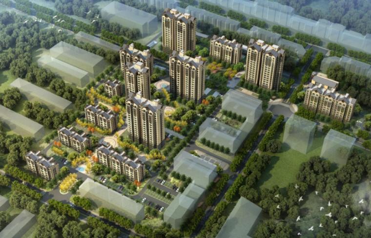 [河北]张北县铭瑞轩住宅小区建筑方案设计文本