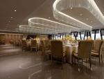 宽敞现代餐厅3D模型下载