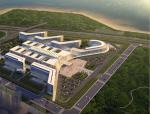 [深圳]现代简洁风格群落式市级医院建筑设计方案文本
