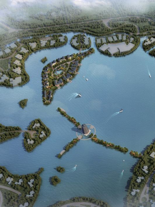 [上海]江南水乡特色顶级豪华住宅建筑设计方案文本