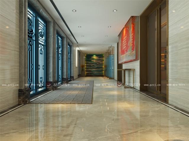 品筑出新作啦!内蒙古·兴安盟乌塔其银行室内设计效果图-02前厅C02.jpg