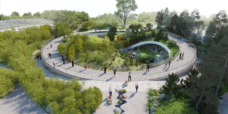 [最新案例]BIG新作,哥本哈根动物园熊猫馆