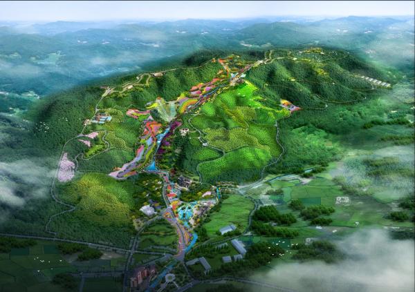 [贵州]国家级林旅生态观光园度假区景观规划文本