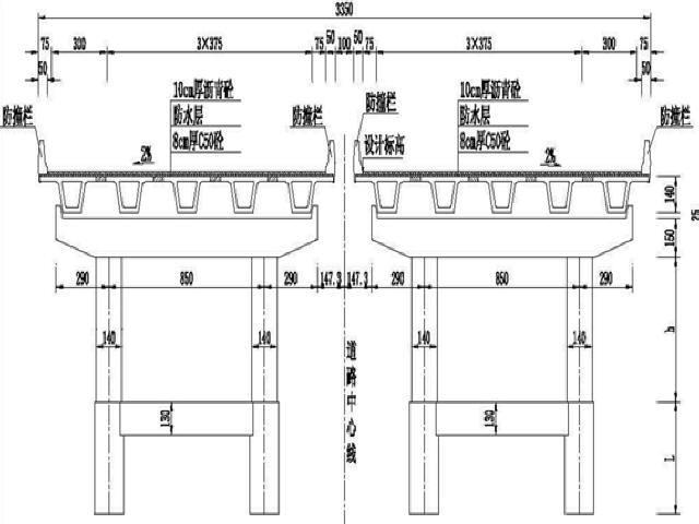 [广东]含气泡混合轻质土道路等宽变宽现浇连续箱梁三层互通立交工程施工组织设计202页