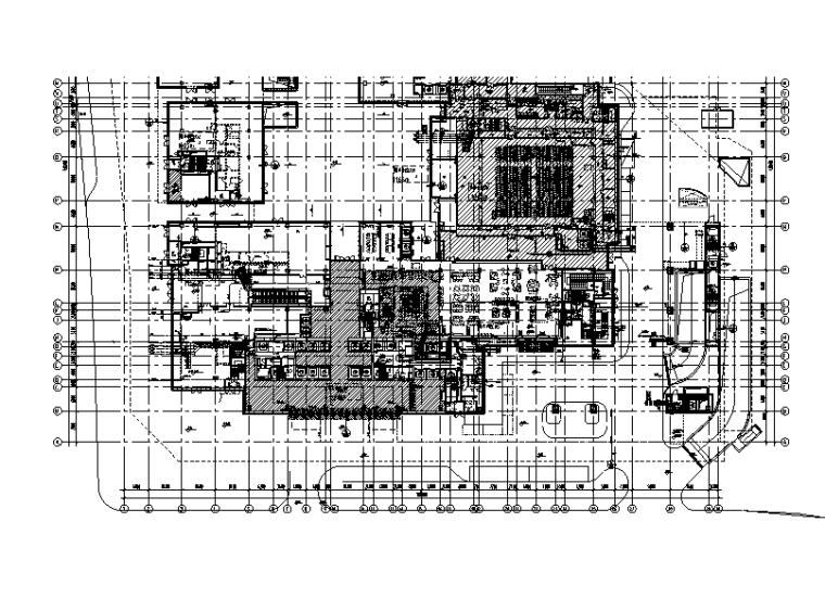 上海大型商业综合体给排水设计施工图