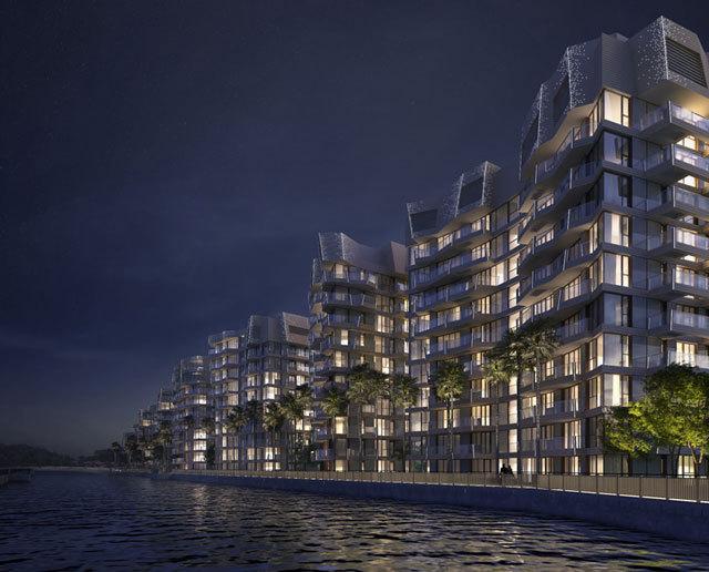 新加坡吉宝湾丽珊景住宅景观设计_5