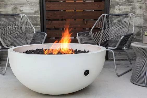 庭院里那一抹温暖·火炉_32