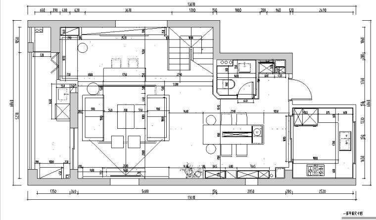 [杭州]和美家—现代风格住宅设计施工图及效果图