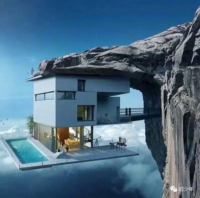 把家安在悬崖边,玩儿的就是心跳_3