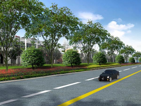 城市道路毕业设计