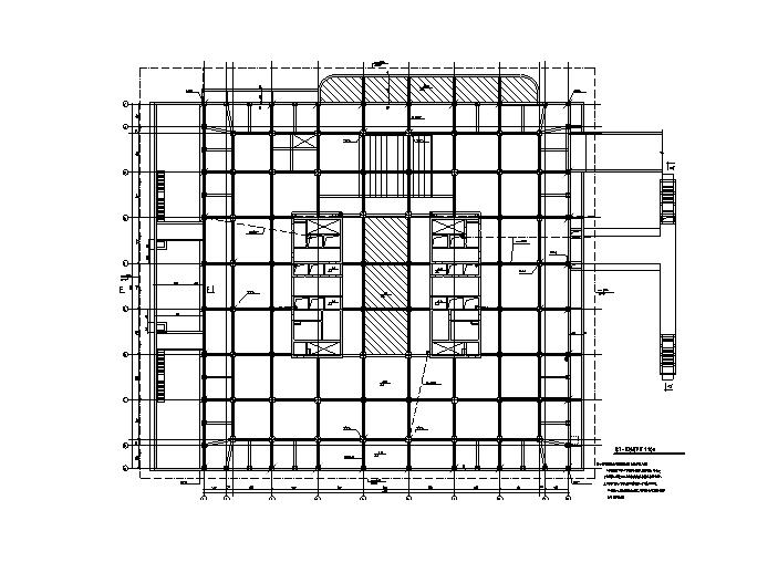 北京十五层综合科研楼电气全套施工图纸(含人防)