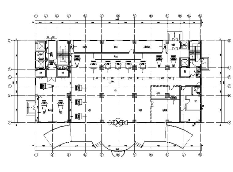 信阳超高层酒店暖通设计施工图(排版工整)