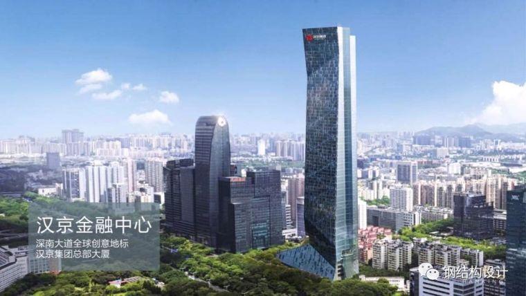 国内最高全钢结构大楼---汉京金融中心,设计、施工技术详细介绍
