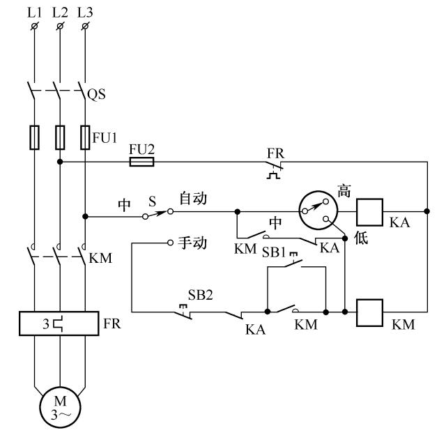 [电气分享]电气自动控制电路图实例精选,快收藏!_32