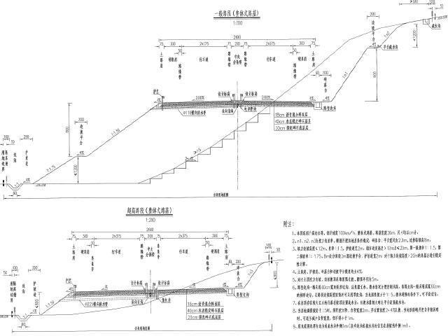 26米宽路基59Km双向四车道高速公路总体设计说明及图纸302页(2016年设计)