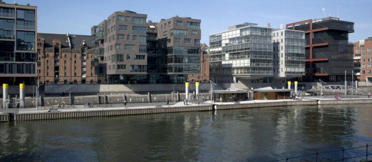 Hafencity的滨水城市公共空间景观