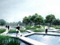 [内蒙古]低碳滨水生态恢复台地公园景观改造设计方案