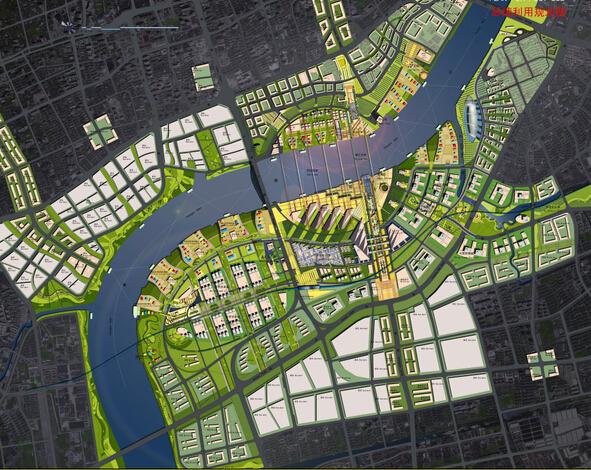 上海世博会规划设计方案文本-后续利用规划平面图