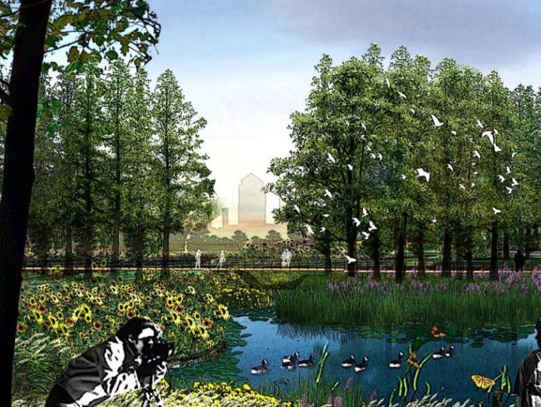 [四川]成都立体城市农业景观带规划设计