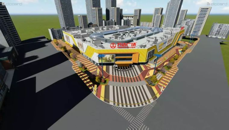 国内首例多维BIM正向设计商业项目-商洛万达广场