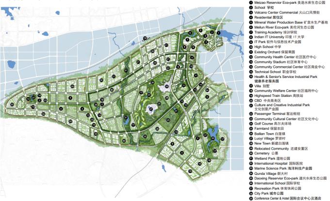 """[海南]""""产城融合""""生态海洋高新技术产业园区城市景观规划设计方案_9"""