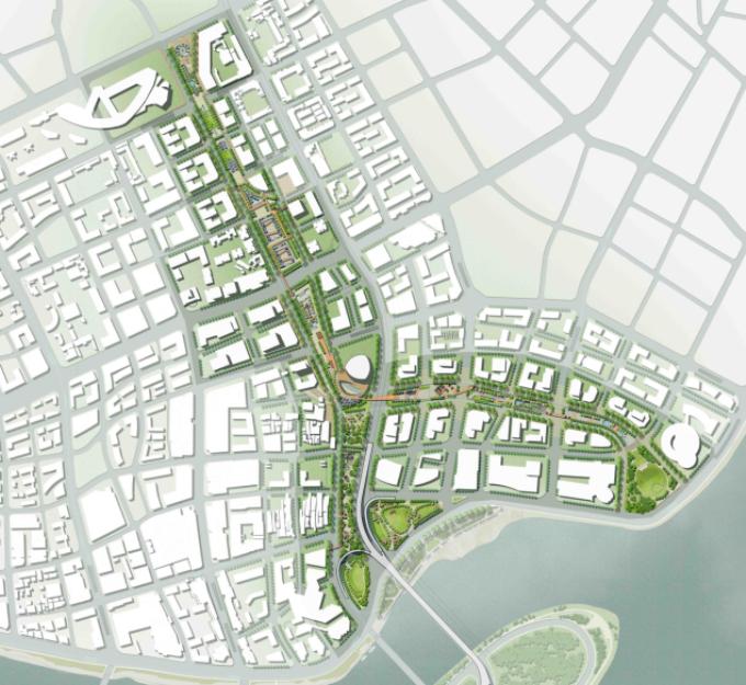 [湖北]生态海绵城市中央绿轴地下立体化商业广场景观绿化设计方案(2017最新)_11