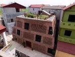 越南砖窑住宅,结构好似洞穴相互嵌套