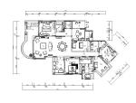 【上海】欧式样板房设计CAD施工图(含效果图)