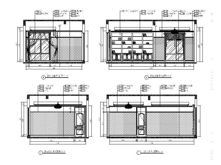 [青岛]全套别墅设计室内装饰施工图_5