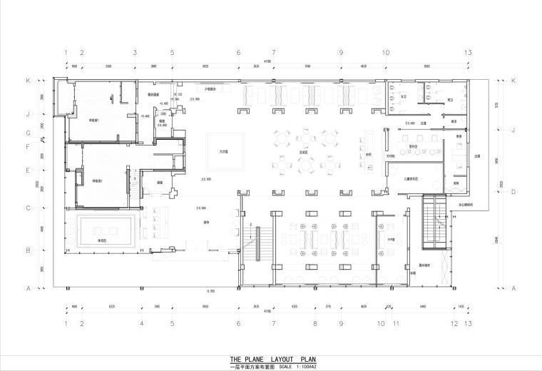[福州]金辉·珑园售楼处设计施工图及效果图
