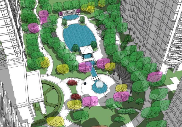 [浙江]绿城锦兰公寓景观扩初设计景观设计文本初稿(PPT+37页)