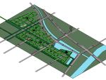 BIM模型-revit模型-城市设计-唐山南堡