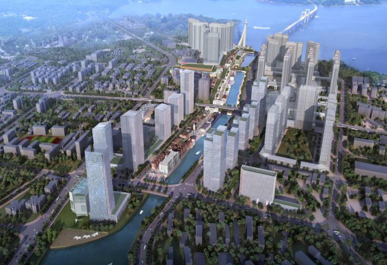 [湖北]万达武汉中央文化旅游区建筑方案设计文本(PDF+74页)