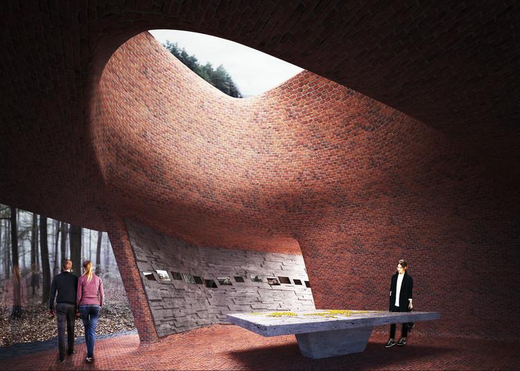 Matthijs Ia Roi 博物馆作品赢得比利时纪念馆设计竞赛