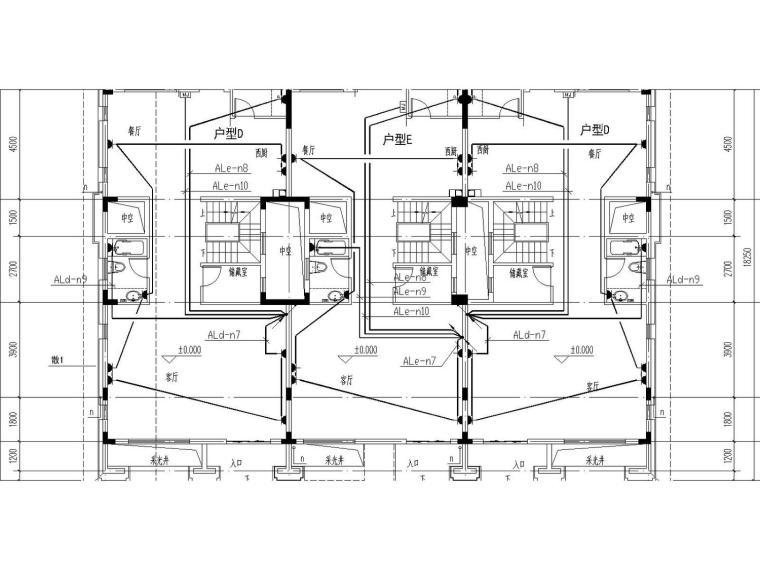 [安徽]高层住宅全套水暖电施工图
